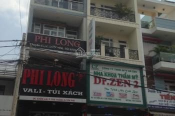 Cho thuê nhà 4 tấm siêu hot mặt tiền đường Bùi Đình Túy, P. 12, Q. Bình Thạnh