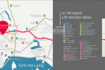 Bán căn 3 PN dự án Ramada Hạ Long Bay View tầng 15 căn ngoại giao tầng sân vườn. LH 0971583883