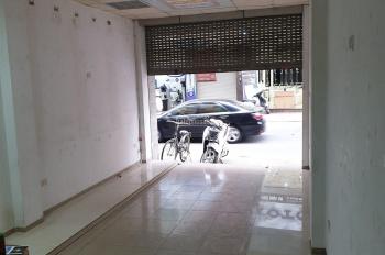 Cho thuê cửa hàng mặt phố An Trạch, ngay ngã 3 Cát Linh - An Trạch, quận Đống Đa, HN