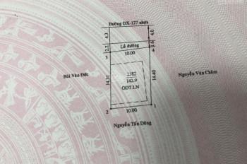 Bán nhà Thủ Dầu Một 2 phòng ngủ, 1PK, sân ô tô DT 142m2 xây dựng 85m2, giá: 2,3 tỷ, LH: 0913128679