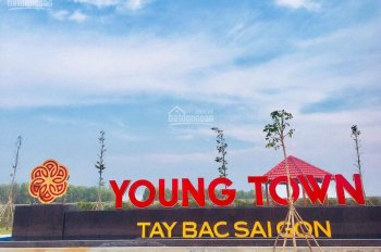 Đất nền Young Town Tây Bắc Sài Gòn cạnh Vin Group, Đức Hòa, Long An giá rẻ bèo chỉ 500tr DT 80m2