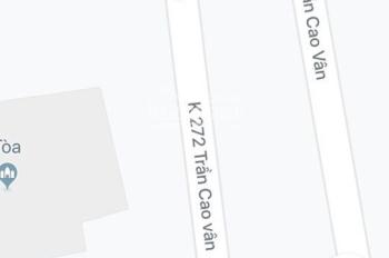 Bán đất ở K272/11 Trần Cao Vân, cách mặt đường 50m, gần chợ Tam Thuận, giá 1,82 tỷ