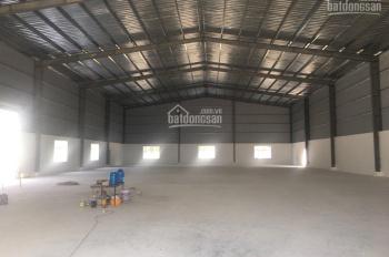 Cho thuê xưởng mới xây dựng diện tích 650m2, giá 32tr/tháng, ở Hiệp Thành, Quận 12