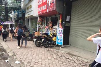 Cho thuê mặt bằng kinh doanh phố Phạm Ngọc Thạch