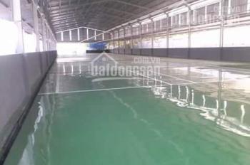 Cho thuê kho xưởng mới làm may xong diện tích 1200m2, giá 47tr/tháng, ở ngã 3 Đông Quang