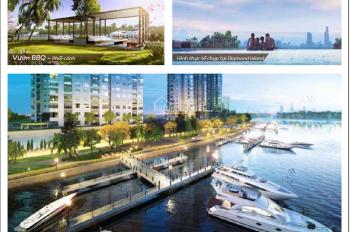 Bán gấp căn hộ Dual-key Đảo Kim Cương, view sông đẹp nhất dự án. Giá rẻ 8.3 tỷ, LH 0908111886