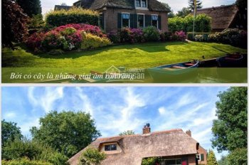 Nền biệt thự sân vườn nơi nghỉ dưỡng lý tưởng và hòa mình vào thiên nhiên, DT từ 1000m2, giá 21 tỷ
