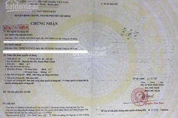 Bán đất mặt tiền Nguyễn Văn Linh, Bình Chánh, 0909535495 Thắng