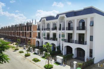 Lavilla ven Sông Vàm Cỏ, DT 5x20m xây dựng 1 trệt 2 lầu kiến trúc đẹp thanh toán 1,6 tỷ nhận nhà