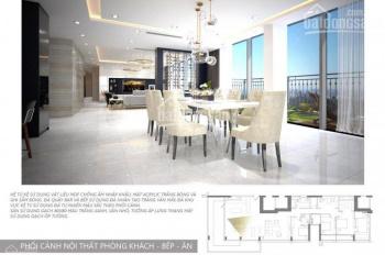 Cho thuê căn penthouse Vinhomes Central Park giá tốt, DT 300m2, view sông và Bitexco 0977771919