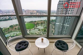 Chính chủ cho thuê căn hộ Landmark 81 DT 172m2 có 4P nội thất Châu Âu view sông mới LH 0977771919