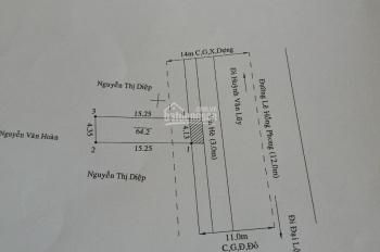 CC bán nhà MTKD Lê Hồng Phong, ngã tư Địa Chất, 64m2