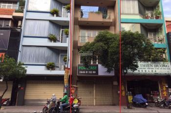 Cho thuê nhà mặt tiền đường Khánh Hội, 6x15m, 2 lầu + sân thượng. Giá 85 triệu/tháng