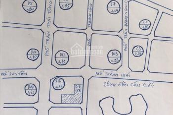 Bán đất đấu giá tại khu đô thị Cầu Giấy, Trần Thái Tông, giá từ 165 tr/m2. LH 0903400869