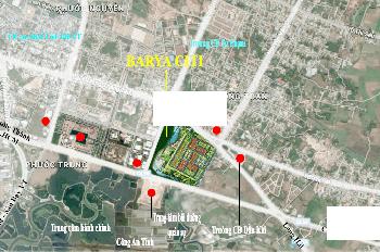 Shophouse trung tâm TP Bà Rịa, mặt tiền Nguyễn Văn Cừ 22m, 1 trệt 3 lầu + sân thượng, giá 5,8 tỷ