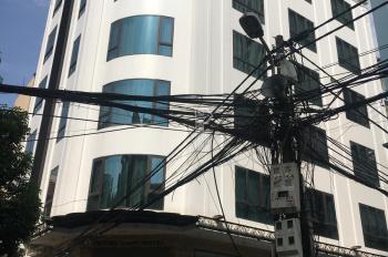 Bán toà nhà 7,5T, 90m2 lô góc 3 mặt thoáng trong ngõ 106 Hoàng Quốc Việt làm VP, CT, cho thuê
