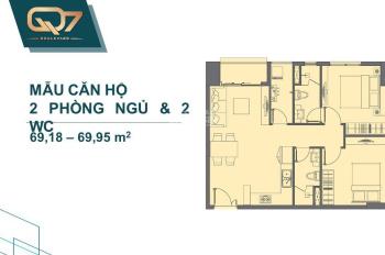 Căn hộ cao cấp ngay Phú Mỹ Hưng phù hợp nhu cầu mua ở, trả chậm, giá 2 tỷ/căn. LH: 0933371427