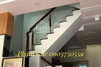 Nhà bán HXH Nguyễn Ngọc Nhựt, P Tân Quý, 4x12m, 1 trệt, 2 lầu + ST, nhà rất đẹp, 5,7 tỷ