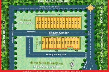 Bán đất nền đẹp mặt tiền xe hơi trong khu dân cư Long Phú, Tân Kim giá đầu tư, sổ hồng riêng