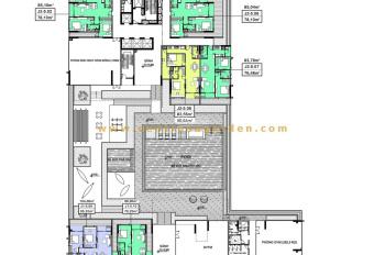 Bán căn hộ 108m2, 2PN + 1 phòng đa năng không chắn, giá chính chủ, liên hệ 09 3333 4787