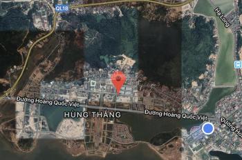 Đất liền kề Hùng Thắng đầu tư - ô đẹp khu trường Singapore