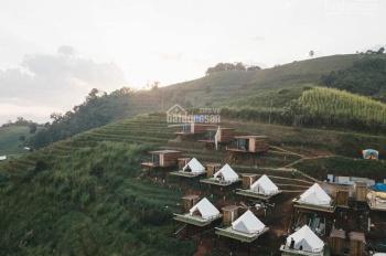 Green Valley khu biệt thự giá 450tr, gần thác DamBri, lâu đài trắng, view đồi chè đẹp mê ly