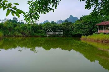 Gia đình tôi chuyển nhượng nhà vườn 4.2ha đất thổ cư, có 2000m2 đất ở, view đẹp hợp làm homestay DL