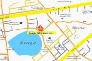 Hà Nội Golden Lake - Căn hộ dát vàng, B7 Giảng Võ, cam kết lợi nhuận 10%/năm, LH 0936166608