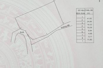 Chính Chủ Cần Bán Đất Mặt Tiền tại Nghĩa Thành, Châu Đức, Bà Rịa Vũng Tàu giá 3,2 tỷ DT 2.500 m2