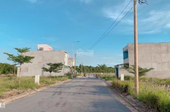 Tôi cần tiền muốn bán 2 lô góc MT đường Trần Văn Giàu, đối diện chợ, gần khu công nghiệp Bonchen