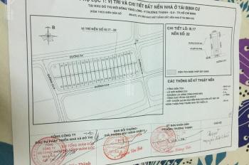 Chính chủ bán đất Đông Tăng Long, đối diện chợ Long Trường, 100m2 (5,75 x 17,5m) giá 40tr/m2