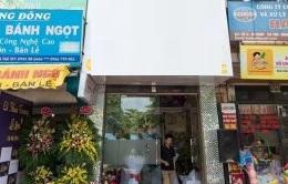 Cho thuê cửa hàng salon tóc, spa mini Vũ Thạnh, DT: 75m2 x 2T, giá: 20tr/th
