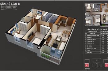 Kẹt tiền bán căn góc loại B 85m2, 3PN, CC Lan Phương, sổ hồng vĩnh viễn 2.22 tỷ, BC ĐN view Metro