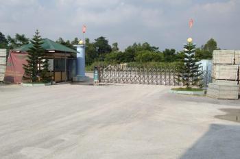 Cho thuê mặt bằng đất nền công nghiệp 2ha tại Kiện Khê - Hà Nam, mặt đường quốc lộ 1A