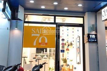 Cho thuê cửa hàng mặt phố An Trạch - dân cư đông đúc, DT 60m2, MT 4m, giá 22tr/th, LH 0974739378