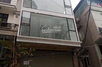 Cho thuê nhà mặt phố Nguyễn Khuyến, Đống Đa Hà Nội, 110m2 * 6 tầng, tháng máy, giá 90 triệu/th