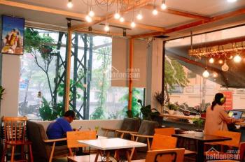 Sang quán cafe góc 2 mặt tiền lớn, đẹp nhất khu Bắc Hải, quận 10