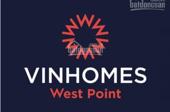 09 căn hộ Vinhomes West Point từ 1-4 phòng ngủ đẹp & giá tốt nhất trực tiếp từ Vingroup, từ 2,39 tỷ