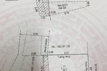 Bán đất - nhà nát - Trần Văn Đang, Phường 11, Quận 3. 34m2 giá 4,38 tỷ