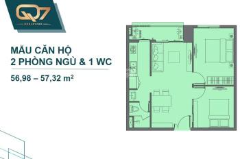 Suất nội bộ CH Boulevard Quận 7 Phú Mỹ Hưng, chỉ 1tỷ5 căn 2PN, CK 18%. Gọi ngay em Duy: 0911750759