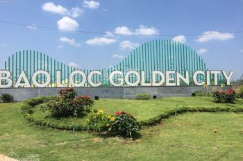 Bán đất nền khu đô thị hoàn chỉnh Bảo Lộc Golden City chỉ 1,15 tỷ. LH phú 0909 208 796