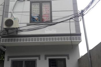 Bán nhà sổ đỏ xây mới xóm 1 Đông Dư Thượng gần cầu Thanh Trì ngõ 4m ô tô vào nhà 1,38 - 1,67 tỷ