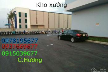 Cho thuê kho xưởng 1200m2. Xe công 40f vào được, ở Kinh Dương Vương, gá 90 tr/1 th 0937669677
