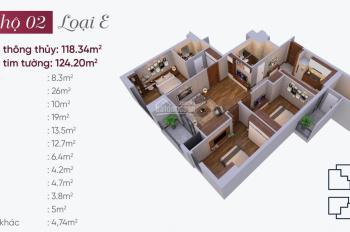 Bán căn hộ 902 tòa nhà N03T7 khu Ngoại Giao Đoàn