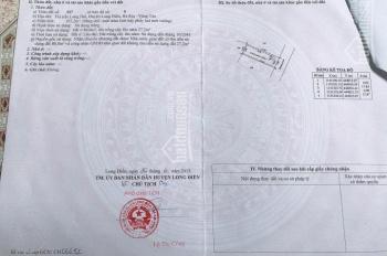 Chính chủ cần bán đất 3 nền sổ đỏ khu Long Hải 107.2m2,187m2,82m2 giá 1tỷ, 820tr. 0903066813