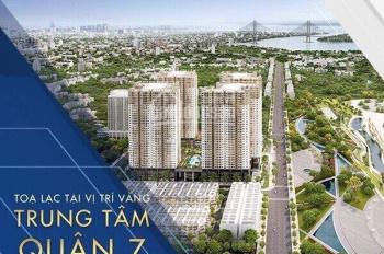 Cần bán nhanh căn hộ chung cư Q7 Saigon Riverside Complex, 2PN, giá 1tỷ6, LH: 0949667233