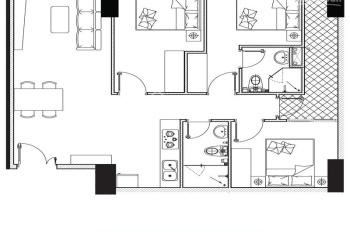 Bán 2 căn hộ 3PN 85m2 Phoenix 1 - 2,15 tỷ, giá thật, không phát sinh thêm phí, liên hệ 0964267826