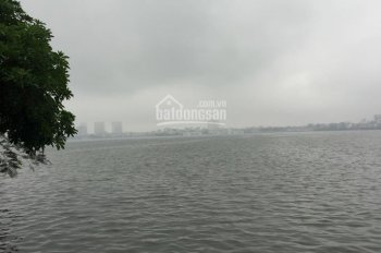 Bán 105m2 mặt hồ phố Nguyễn Đình Thi, Tây Hồ, mặt tiền 6,6m