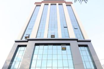 Bán tòa nhà văn phòng 8 tầng xây mới khu đấu giá D7, D21 Dịch Vọng, Q. Cầu Giấy