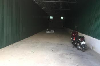 Cho thuê kho xưởng quận Cầu Giấy. Diện tích 100m2 - 200m2 - 500m2, xe container vào được